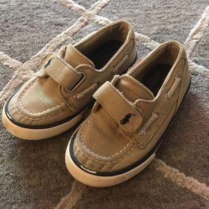 Toddler Ralph Lauren Velcro Sneakers